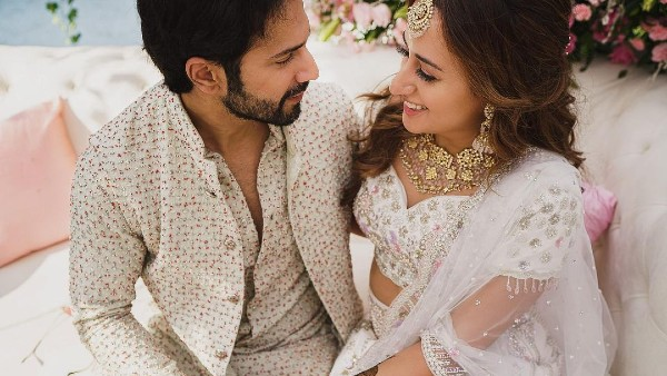Varun-Natasha's Mehendi Ceremony Pics Are Dreamy