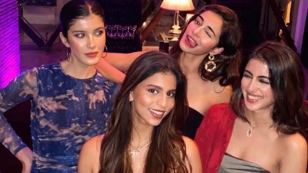 Ananya Shares Pictures With Suhana, Navya & Shanaya