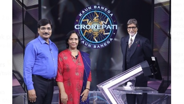 KBC 12: Kiran Bajpai Ties Rakhi To Amitabh Bachchan; Contestant Also Attempts The Rs 1 Crore Question