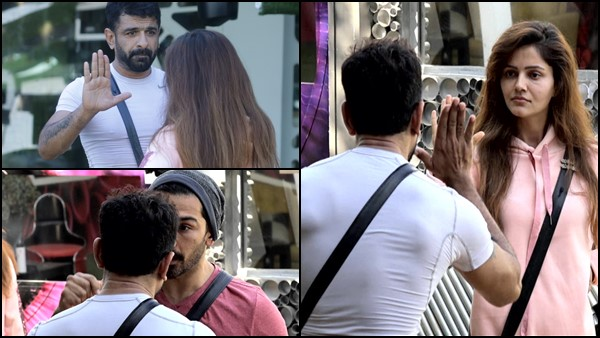 Bigg Boss 14: Eijaz Khan Gets Physical With Rubina Dilaik During Argument; Abhinav Shukla Warns Him
