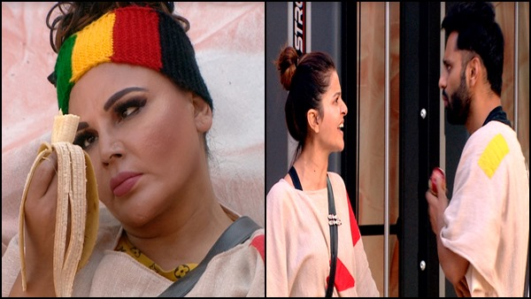Bigg Boss 14: Rakhi Sawant Urinates In Her Pants; Rubina Dilaik-Rahul Vaidya Fight