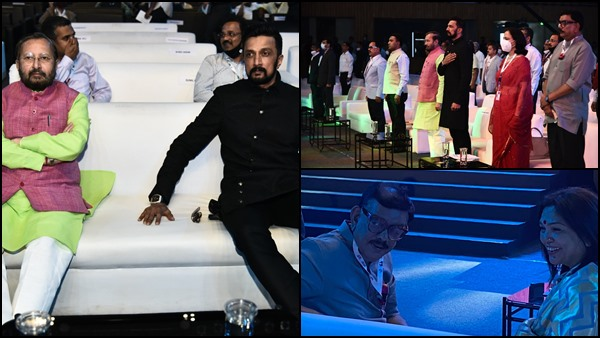 IFFI 2021: Priyadarshan Attends The Event With Sudeep