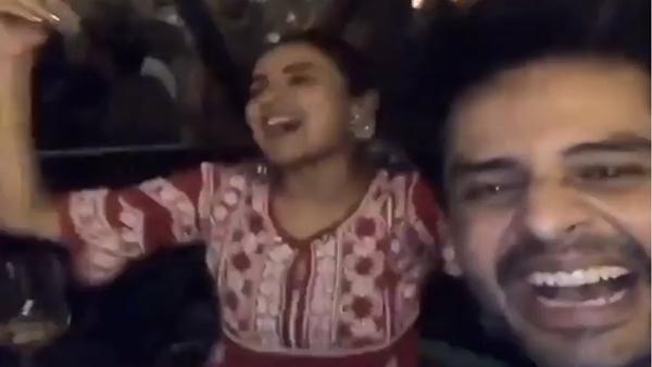 Bigg Boss 14: Jasmin Bhasin Parties With Shardul Pandit, Dances To 'Aly Da Pehla Number'; Watch Video