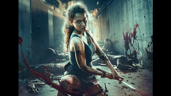 Dhaakad New Poster: Kangana Ranaut Slays It With Her Fierce Avatar; Film To Release On October 1, 2021