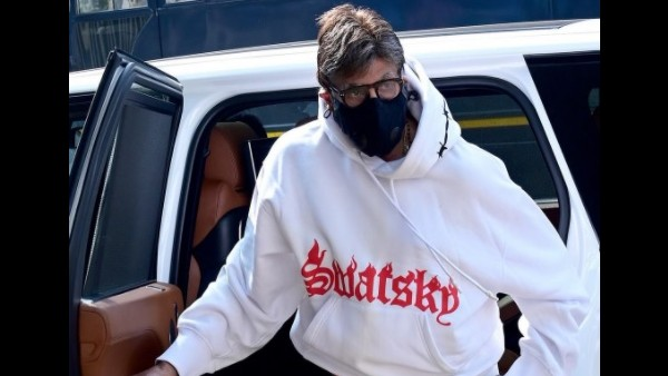 Amitabh Bachchan Is Nervous As He Begins Shooting For Mayday; Says 'Want To Run Away And Hide'