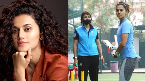 Shabaash Mithu: Taapsee Pannu Begins Her 'Romance With The Bat & The Ball' For Mithali Raj Biopic