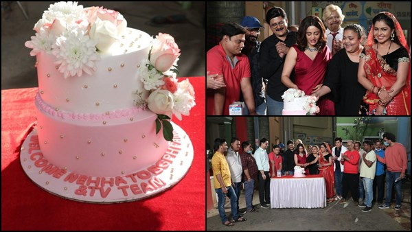 Nehha Pendse As Anita Bhabhi Receives A Warm Welcome From The Team Of Bhabiji Ghar Par Hai