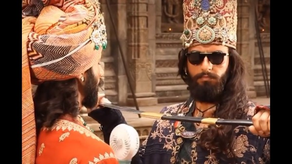 Ranveer Singh Celebrates 3 Years Of Padmaavat