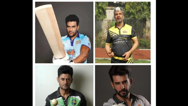 Varun Badola, Jay Bhanushali, Manav Gohil, Sharad Kelkar - TV Actors Come Together For Actors Cricket Bash 2