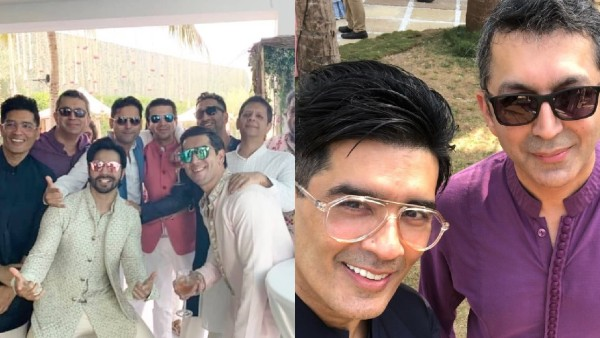 'Dulha' Varun Dhawan Chills With His Squad In Alibaug At His Wedding Festivities