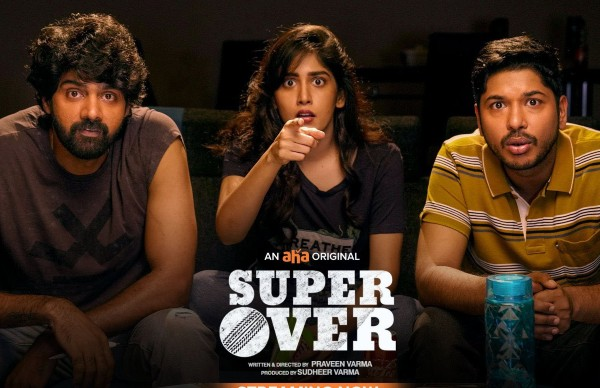 Naveen Chandra's Super Over Twitter Review