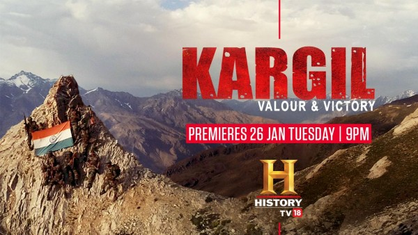 This Republic Day, HistoryTV Brings Kargil: Valour & Victory