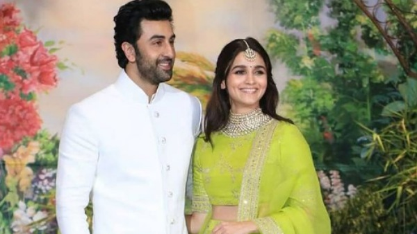 Alia Bhatt And Ranbir Kapoor Strike A Pose On The Sets Of Their TV Commercial; See Pic