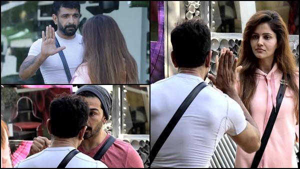 Bigg Boss 14: Eijaz Khan Gets Physical With Rubina Dilaik During Argument; Abhinav Shukla Warns Him