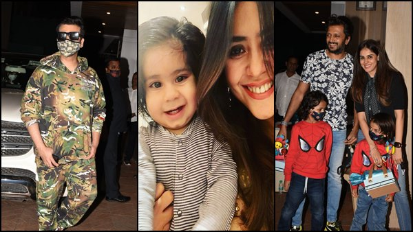 Ekta Kapoor Celebrates Son Ravie's 2nd Birthday; Riteish Deshmukh, Karan Johar & Others Attend Bash [Pics]