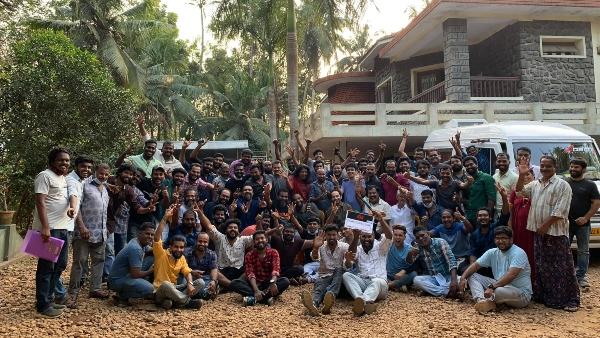 Fahadh Faasil, Dileesh Pothan, And Team Wrap Up Joji