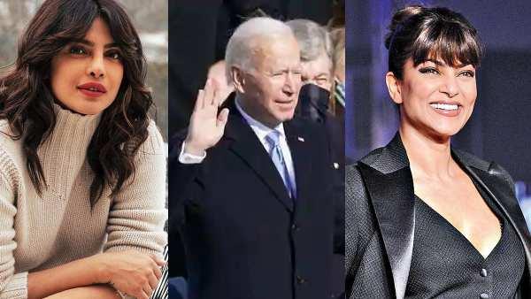 Priyanka Chopra, Nick Jonas, Sushmita Sen & Others Celebrate Joe Biden & Kamala Harris' Inauguration