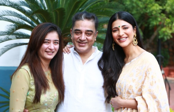 Shruti Haasan Gives An Update On Father Kamal Haasan's Surgery; Says 'Thank You For All The Love'