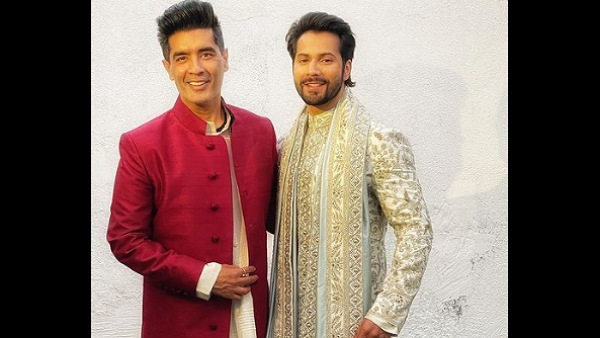 Varun Dhawan Is The Ever Beaming Groom As He Gets Decked Up By Manish Malhotra; Watch Video