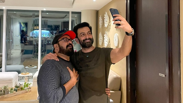 Prithviraj Posts A Picture With Mohanlal; What Is Cooking?