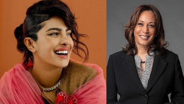 Priyanka Chopra Expresses Her Happiness Over Kamala Harris' Indian Roots