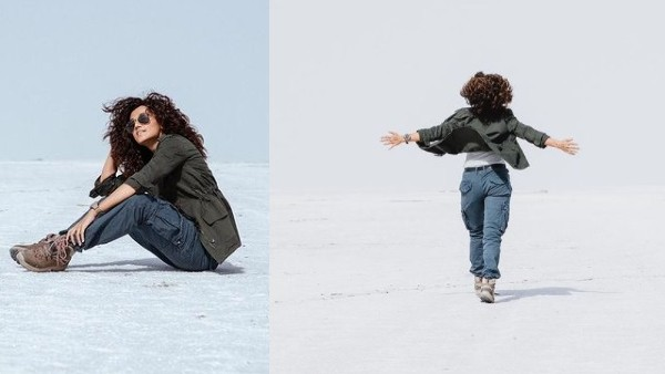 Taapsee's Post After Wrapping Up Rashmi Rocket Shoot