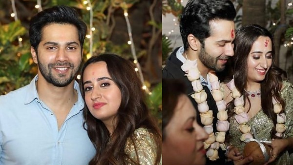 Varun Dhawan-Natasha Dalal Roka Ceremony Pictures Have Love Written In Bold All Over Them