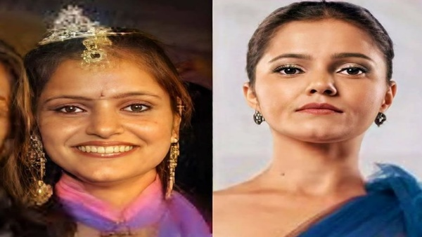Bigg Boss 14 Contestant Rubina Dilaik's Viral Then-And-Now Picture Gives Major Transformation Goals