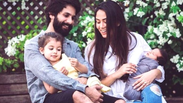 Mira Rajput Credits Hubby Shahid Kapoor For Helping Her Stay Calm And Happy During Her Pregnancies