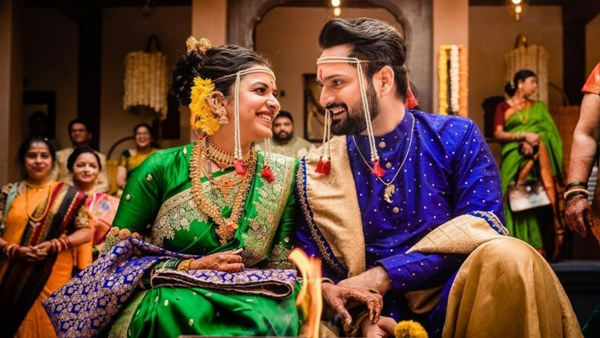 Siddharth Chandekar & Mitali Mayekar Get Married