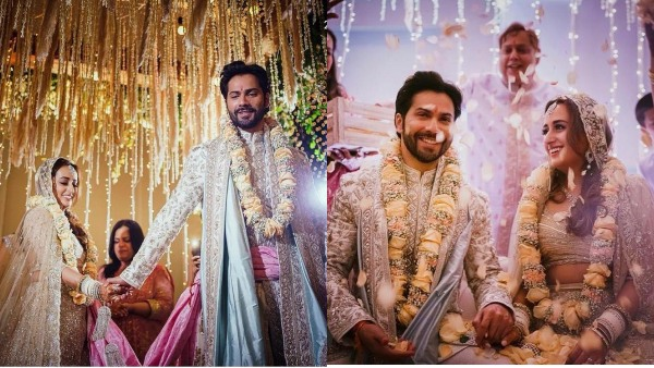 Varun Dhawan And Natasha Dalal Tie The Knot: The First Pictures Are Out!
