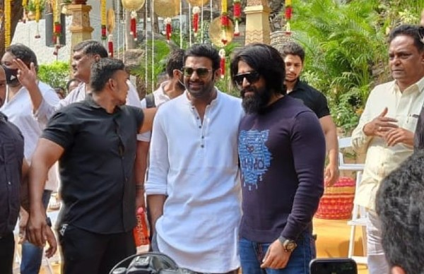 Salaar Saga Begins: Prabhas And Yash's Picture From The Launch Event Goes Viral!