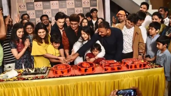 It's Double Celebration For YRKKH Team