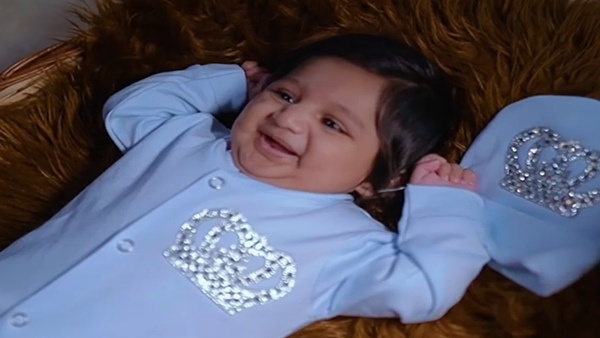 Late Chiranjeevi Sarja's Wife Meghana Raj Shares First Glimpse Of Baby Boy Junior C; Watch Video