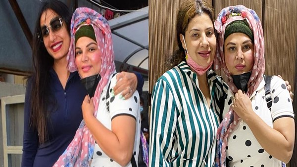 Kashmera Shah & Sambhavna Seth Meet Bigg Boss 14 Finalist Rakhi Sawant's Ailing Mother In Hospital [Photos]