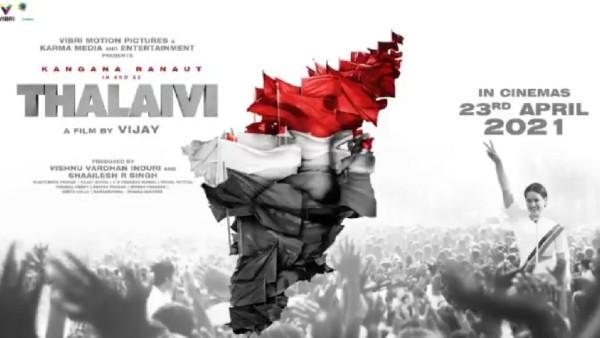 Kangana Ranaut's Thalaivi To Release On April 23, 2021