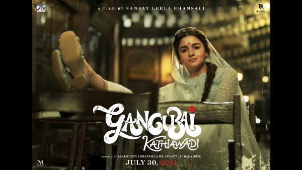 Alia Bhatt's Gangubai Kathiawadi New Poster Out; Film To Release In Theatres On July 30, 2021