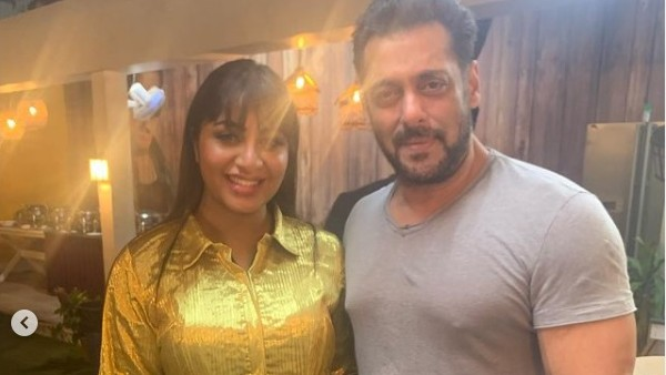 Arshi Khan Reveals Salman Khan's Hilarious Reaction To Her Lady Gaga Inspired Bigg Boss 14 After-Party Dress