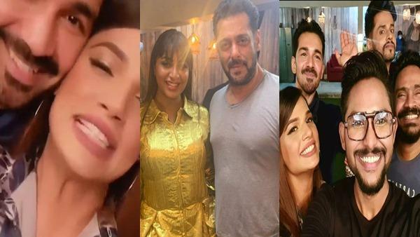 BB 14: Arshi Khan, Abhinav Shukla, Jaan Sanu & Others Party With Salman Khan Post Grand Finale; See Pics
