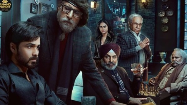 Chehre Poster: Amitabh Bachchan & Emraan Hashmi Get Ready To Face The Game, Makers Announce Release Date