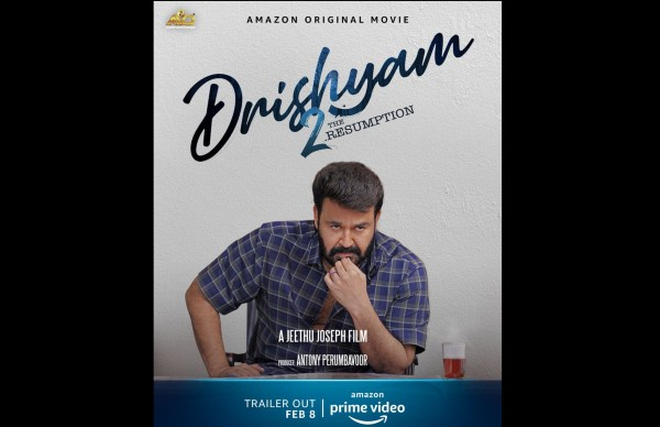 Drishyam 2 Trailer Release: Mohanlal As Georgekutty To Arrive On February 8!