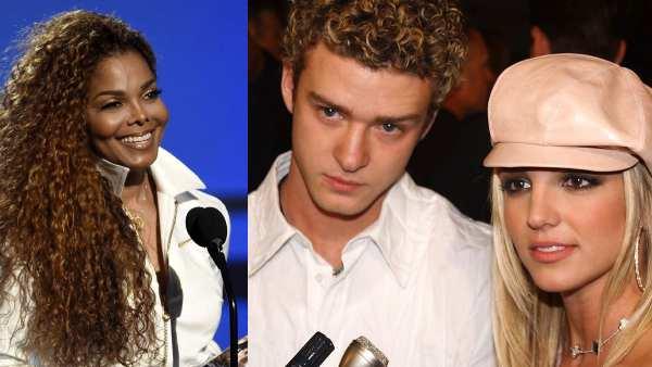 Justin Timberlake, Britney Spears, Janet Jackson,