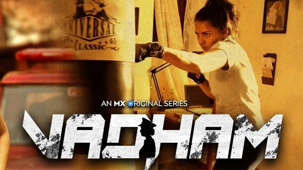 MX Player And Applause Entertainment Drop Trailer For Upcoming Female Cop Drama Series 'Vadham'