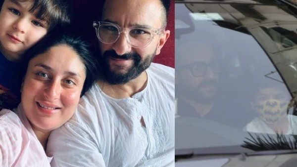 Kareena Kapoor Heads Home With Newborn Son After Getting Discharged From Hospital; Saif, Taimur Accompany Her