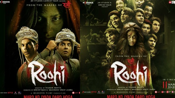 ALSO READ: Roohi First Look Posters: Janhvi Kapoor Sets Out To Haunt Grooms Rajkummar & Varun With Her Spooky Avatar