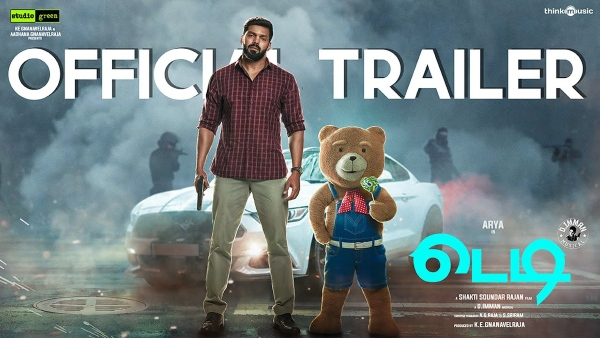 Teddy Trailer Is Out; The Arya-Sayyeshaa Starrer To Release On Disney Plus Hotstar