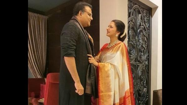 Bhagyashree With Hubby Himalaya Dassani