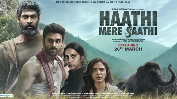 Rana Daggubati's Haathi Mere Saathi To Have One Of A Kind Trailer Launch