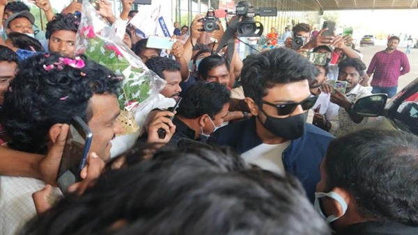 Acharya: Ram Charan Wraps Up 20 Days Schedule Of Chiranjeevi Starrer; Actor Spotted At The Airport