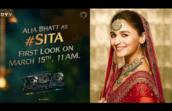 Also Read: RRR: Alia Bhatt's First Look As Sita To Be Out On March 15